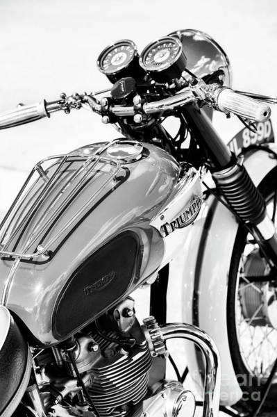 Photograph - Triumph T90 Monochrome by Tim Gainey