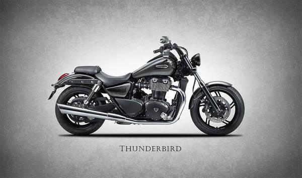 Thunderbird Wall Art - Photograph - Triumph Thunderbird by Mark Rogan