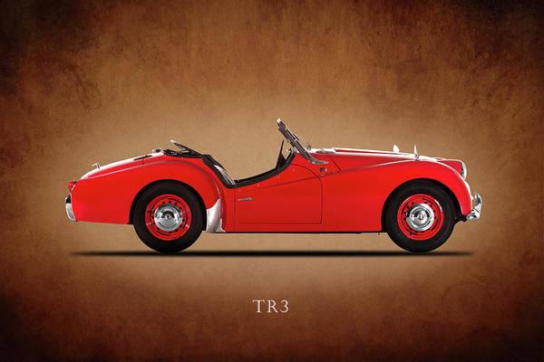 Wall Art - Photograph - Triumph Tr3a 1959 by Mark Rogan