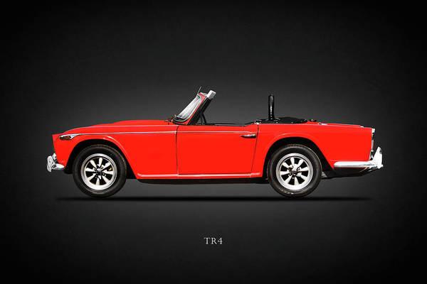 Triumph Photograph - Triumph Tr4 by Mark Rogan