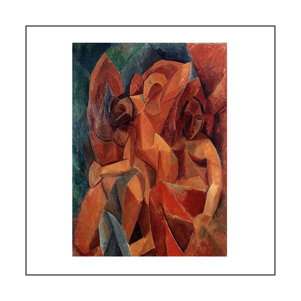 Dehner Painting - Trois Femmes Three Women  by Pablo Picasso