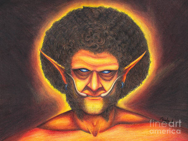 World Of Warcraft Wall Art - Drawing - Troll Jesus by Angelyn Starr
