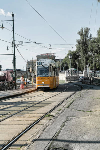 Photograph - Trolley Stop by Sharon Popek