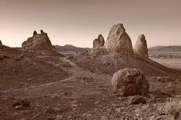 Death Valley Photograph - Trona Landscape by Steve Gadomski