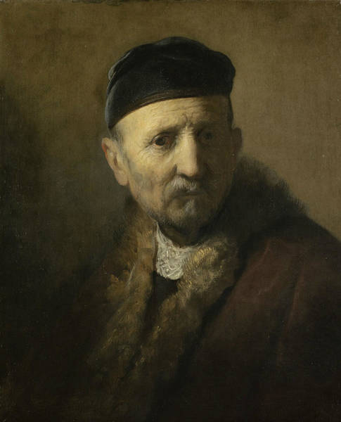 Painting - Tronie Of An Old Man by Rembrandt