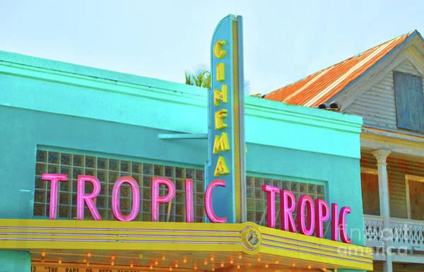 Photograph - Tropic Cinema Deco by Jost Houk