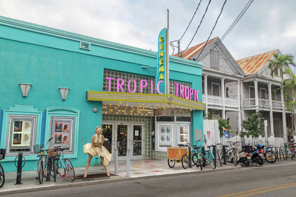Wall Art - Photograph - Tropic Cinema Key West Florida by Betsy Knapp