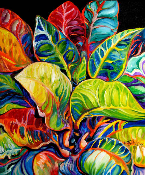 Painting - Tropical Abstract by Marcia Baldwin
