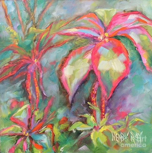 Painting - Tropical Beauty by Wendy Ray