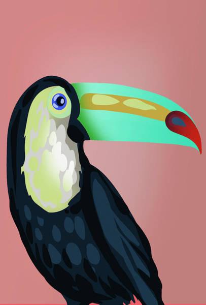 Wall Art - Digital Art - Tropical Bird  by Mark Ashkenazi