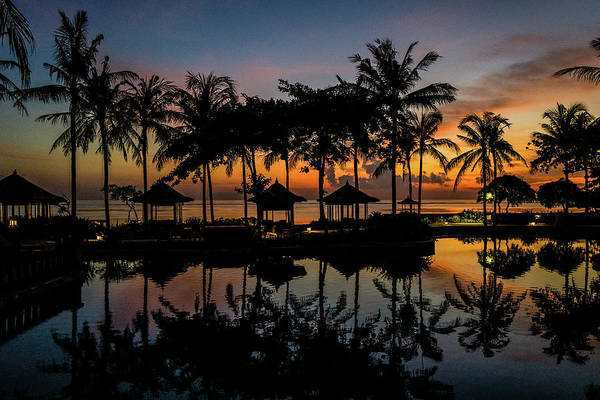 Photograph - Tropical Sunrise by M G Whittingham