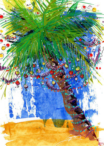 Painting - Tropical Christmas  by Thomas Lupari