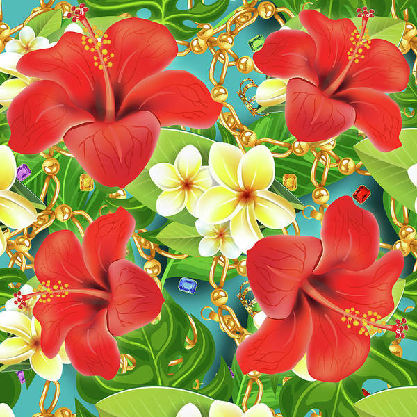 Wall Art - Photograph - Tropical Color Party by Mark Ashkenazi