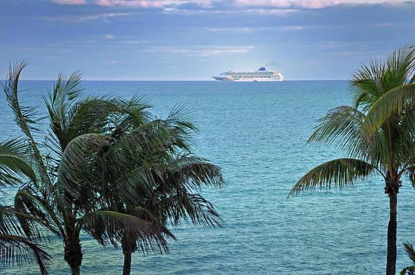 Tropical Cruise Art Print