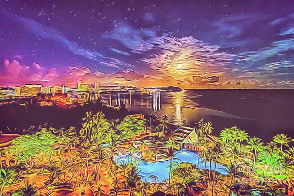 Digital Art - Tropical Dream by Ray Shiu