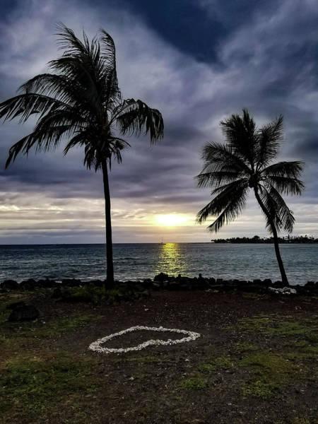 Photograph - Tropical Hawaiian Sunset by Pamela Walton