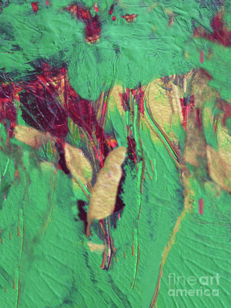 Banana Leaf Mixed Media - Tropical Jungle Abstract by Sharon Williams Eng
