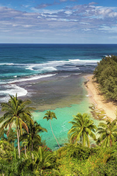 Photograph - Tropical Kee Beach Kauai by Pierre Leclerc Photography