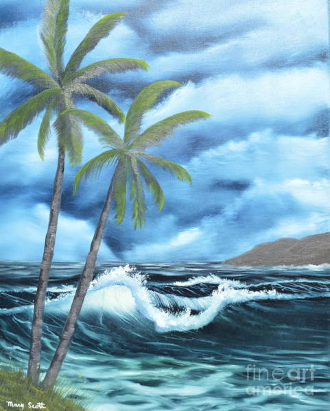 Painting - Tropical by Mary Scott