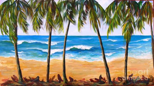Painting - Tropical Palms 2 by Phyllis Howard