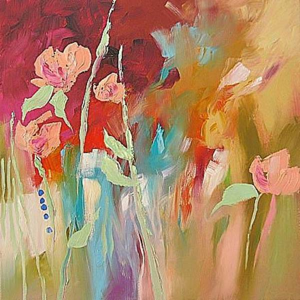 Fauve Painting - Tropical Scent by Linda Monfort