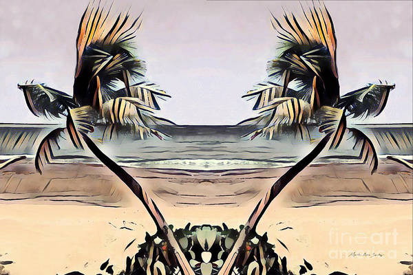 Digital Art - Tropical Seascape Digital Art B7717 by Mas Art Studio