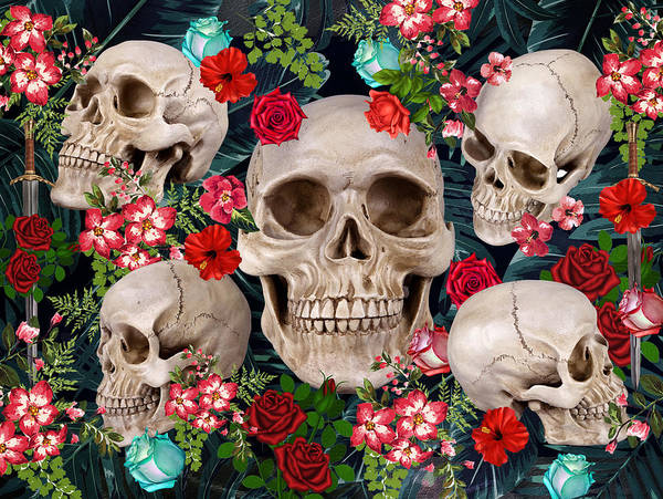 Wall Art - Photograph - Tropical Skull  by Mark Ashkenazi