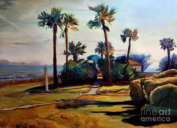 Jekyll Island Painting - Tropical Sunshine by Maris Salmins