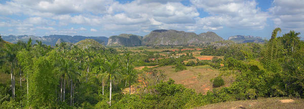 Wall Art - Photograph - Tropical View Of The Valle De Vinales by Panoramic Images