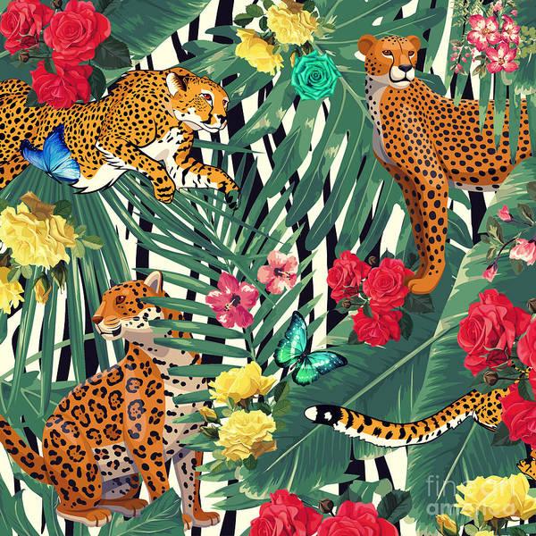 Wall Art - Photograph - Tropical Wild  by Mark Ashkenazi