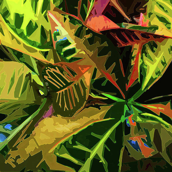 Digital Art - Tropicale by Gina Harrison
