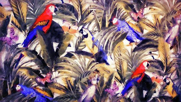 Painting - Tropicana - 01  by Andrea Mazzocchetti