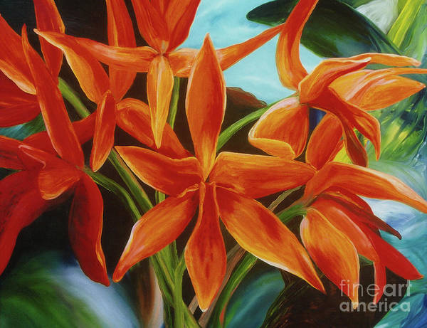 Painting - Tropicana by Donna Hall