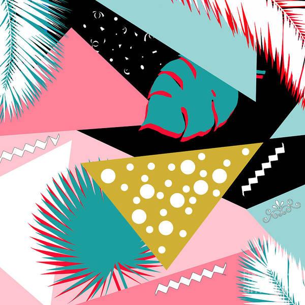 Wall Art - Digital Art - Tropics Colors  by Mark Ashkenazi