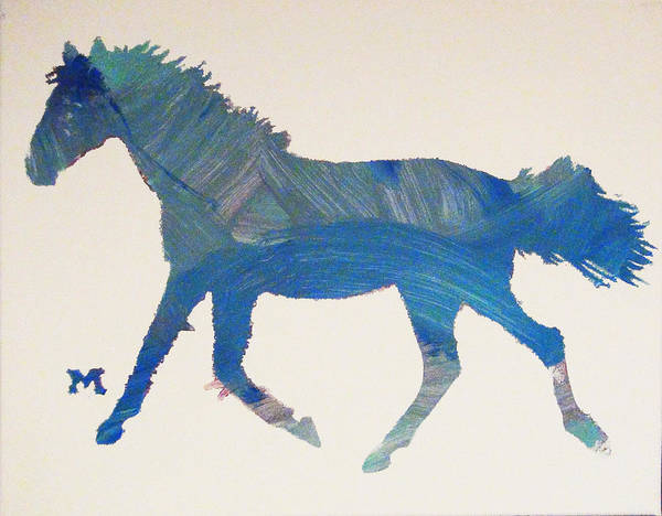 Painting - Trotter by Candace Shrope