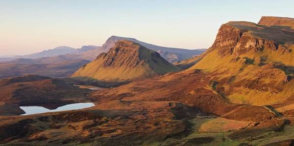 Photograph - Trotternish Ridge Panorama by Stephen Taylor