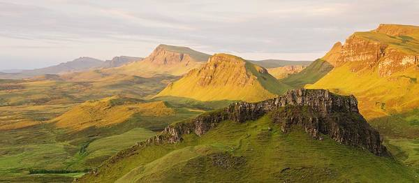 Photograph - Trotternish Summer Panorama by Stephen Taylor