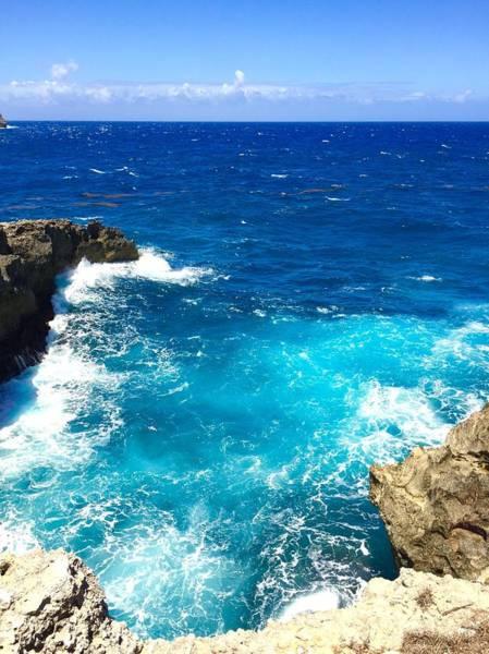 Photograph - Trou Madame Coco, Grande Terre, Guadeloupe by Cristina Stefan