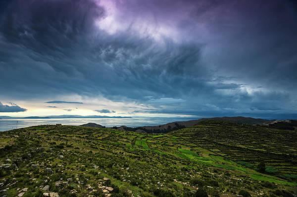 Wall Art - Photograph - Troubled Titicaca by Aaron Bedell
