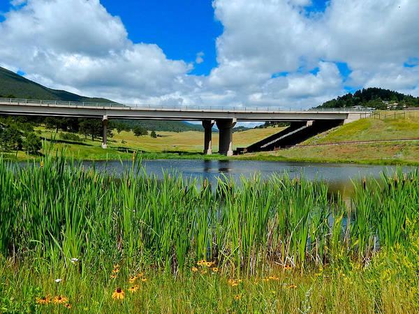 Photograph - Troublesome Creek Bridge by Dan Miller
