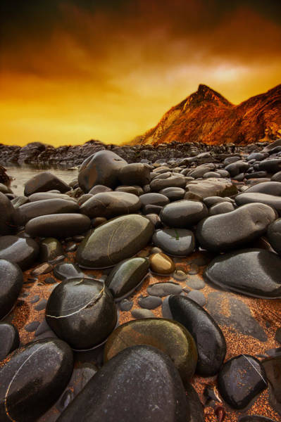 North Devon Wall Art - Photograph - Troublesome Sky by Mark Leader