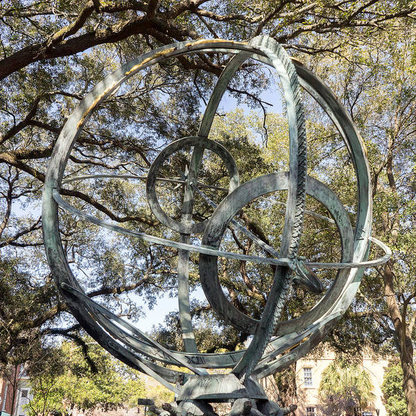 Photograph - Troup Square Armillary Sphere by For Ninety One Days