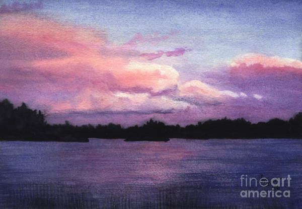 Painting - Trout Lake Sunset I by Lynn Quinn