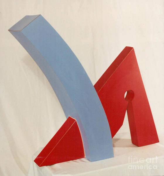 Sculpture - Tru Blue by Robert F Battles
