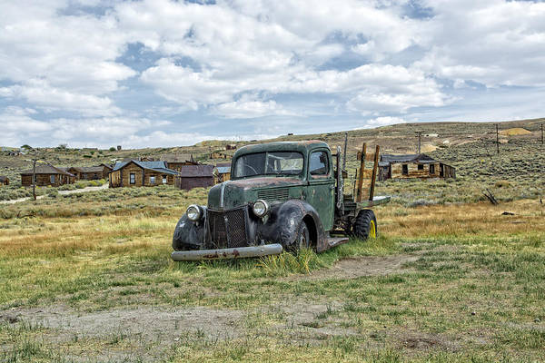 Photograph - Truck In Bodie by Scott Read