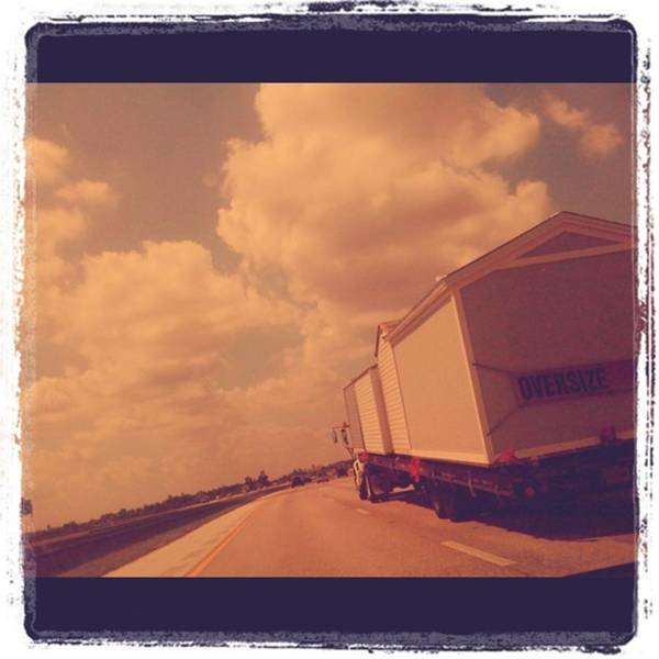Wall Art - Photograph - Truck In Highway I-75 by Juan Silva