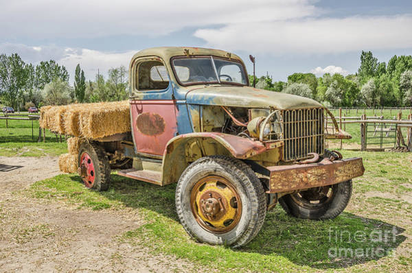 Photograph - Truck Of Many Colors by Sue Smith