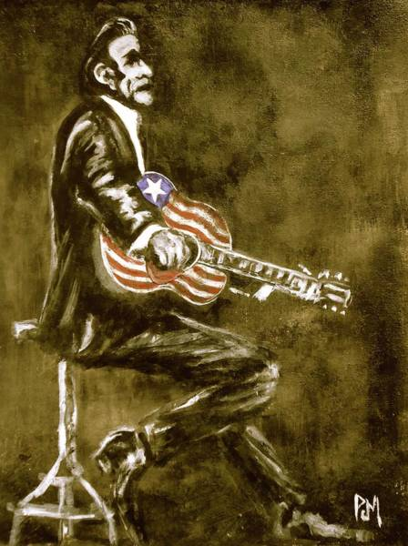 Lone Star Painting - True American by Pete Maier