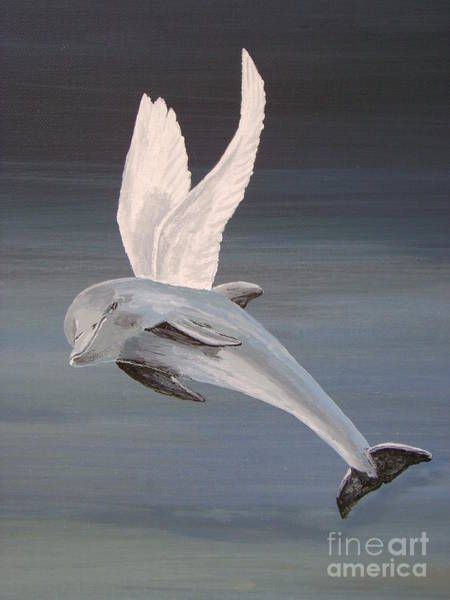 Painting - True Angel 2 by Eric Kempson