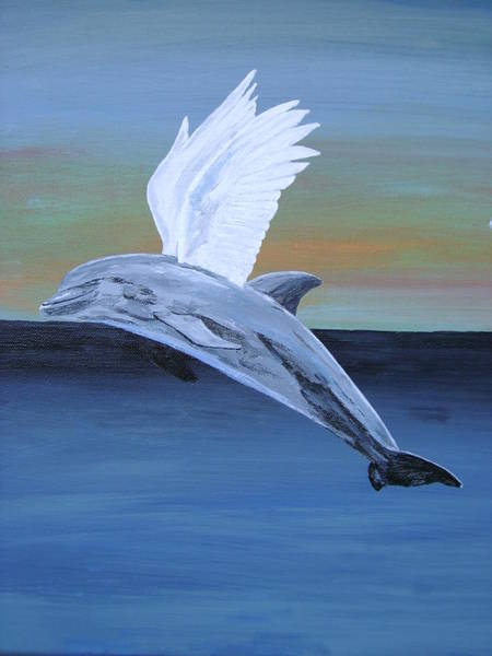 Painting - True Angel 4 by Eric Kempson